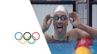 Muffat Win's Women's 400m Freestyle Gold - London 2012 Olympics