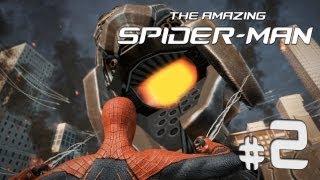 Amazing Spider-Man - # 2 - Lets Play - Kampfroboter in Manhattan PC DE HD BLIND