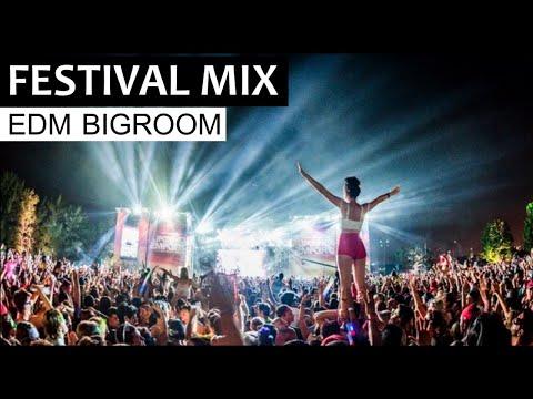 EDM FESTIVAL MIX - Bigroom Electro House Club Music 2019