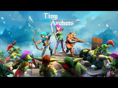 Official Tiny Archers (by 1Der Entertainment) Teaser Trailer - (iOS / Android)