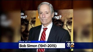 "Veteran ""60 Minutes"" Correspondent Bob Simon Killed In Car Crash"