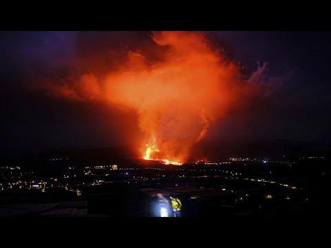 فيديو | بركان جزر الكناري يواصل تدمير البيوت والبنى التحتية …