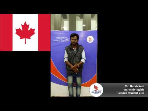 Canada Student visa grant for him - Congratulations !