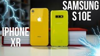 Samsung Galaxy S10e vs iPhone XR - Dificilă alegere  (Review în Română)