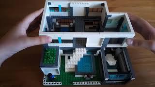видео лего как сделать красивый дом