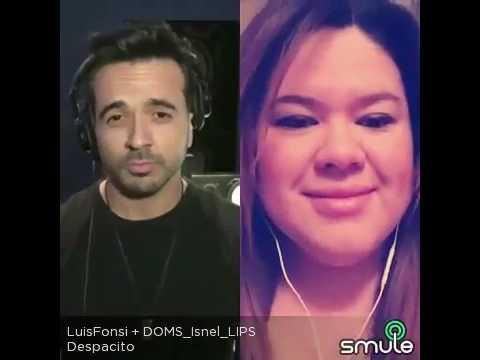 Despacito Luis Fonsi karaoke Smule - by Isis