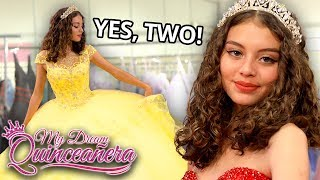 i want TWO dresses | My Dream Quinceañera - Gisselle EP 2