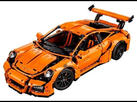 lego porsche 911 gt3 rs exclusive 42056 speed build youtube