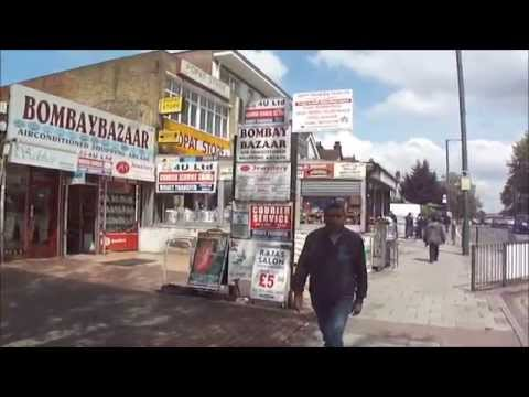 "Walking on London's ""Little India Street"", (Ealing Road, Alperton, Wembley)."