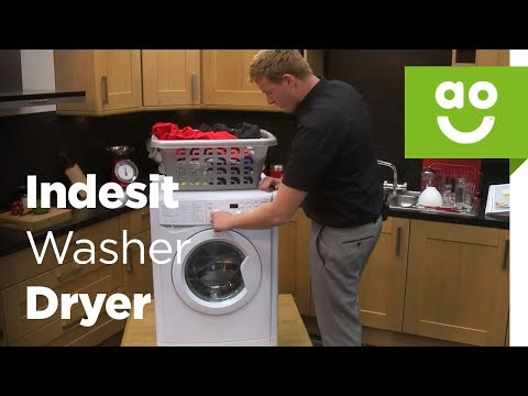 Indesit Washer Dryer IWDD7123 Product Review | ao.com