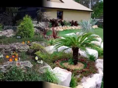 rock garden design ideas youtube