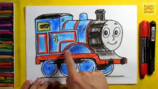 How to draw Thomas of Thomas u0026 Friends