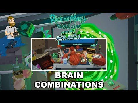 BRAIN COMBINATIONS! | Rick and Morty Simulator: Virtual Rick-Ality