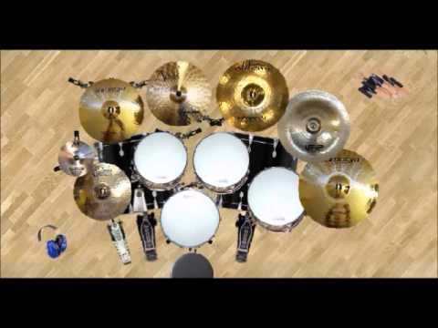 ANUAR ZAIN ft ELINA SUASANA HARI RAYA drum cover