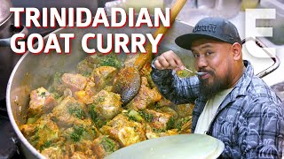 Goat Curry at Seattle's Only Authentic Trinidadian Restaurant - Cooking in America