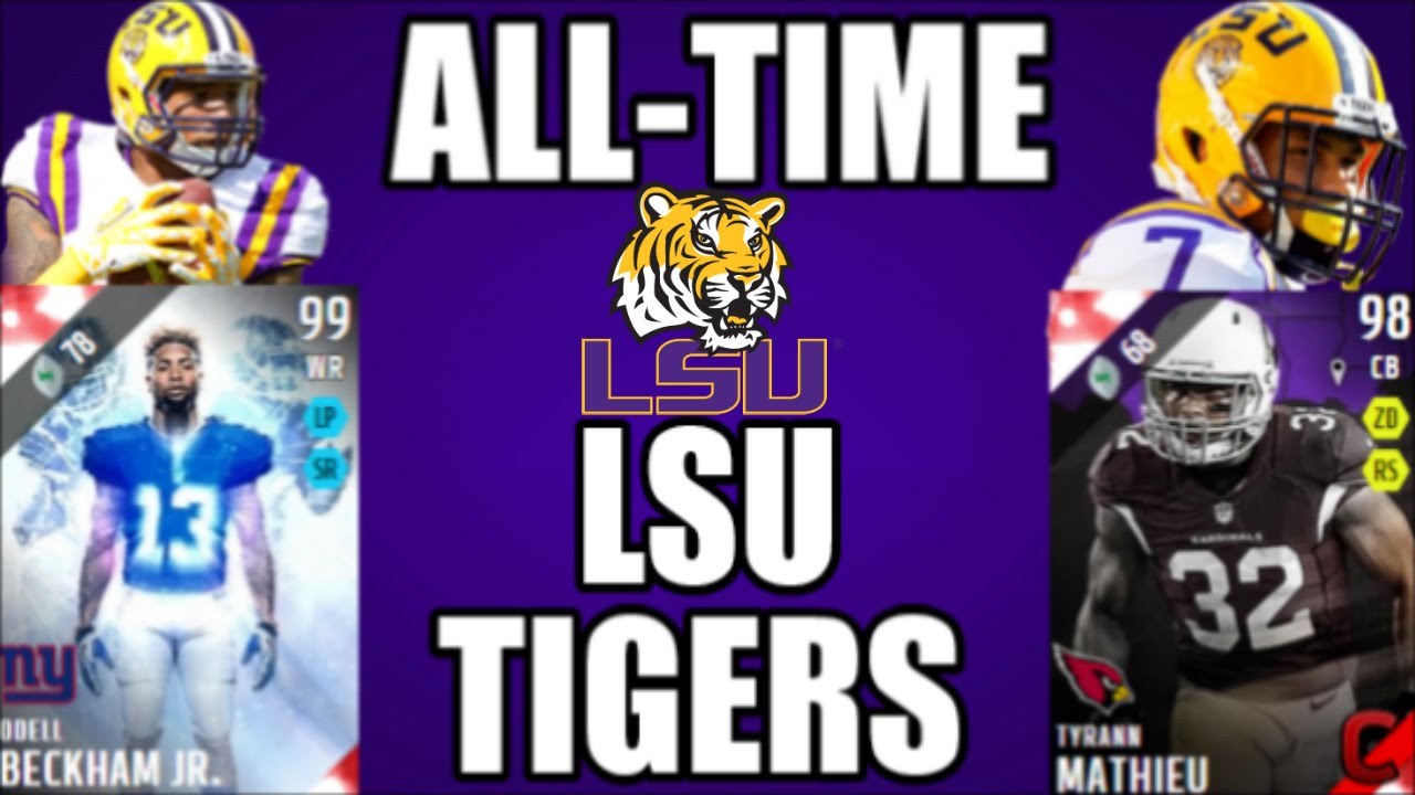 All Time LSU Tigers Team Odell Beckham Jr And Tyrann