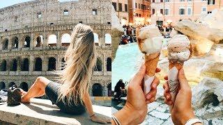 skincare travel essentials, vatican city, + colosseum!