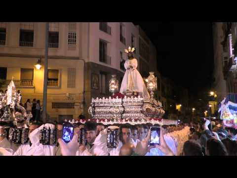 CAUTIVO, Tribuna de los Pobres, Semana Santa Málaga 2015