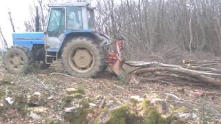 Landini 8550 Vitlanje Drva