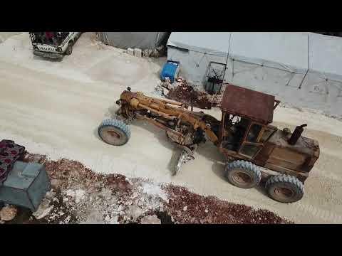 انتهاء اعمال مشروع تحسين البنى التحتية في مخيمات شمال غرب سوريا