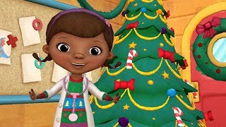 Doc McStuffins Christmas Clinic 🎄 Disney Junior Color & Play App for Kids