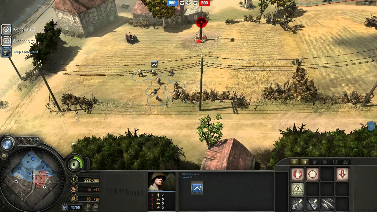 company of heroes tutorial