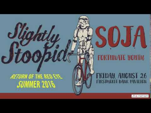 Slightly Stoopid at FirstMerit Bank Pavilion on Friday, August 26