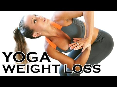 Detox & Weight Loss Yoga Workout #4 - 20 Minute Fat Burning Yoga Meltdown Beginner & Intermediate