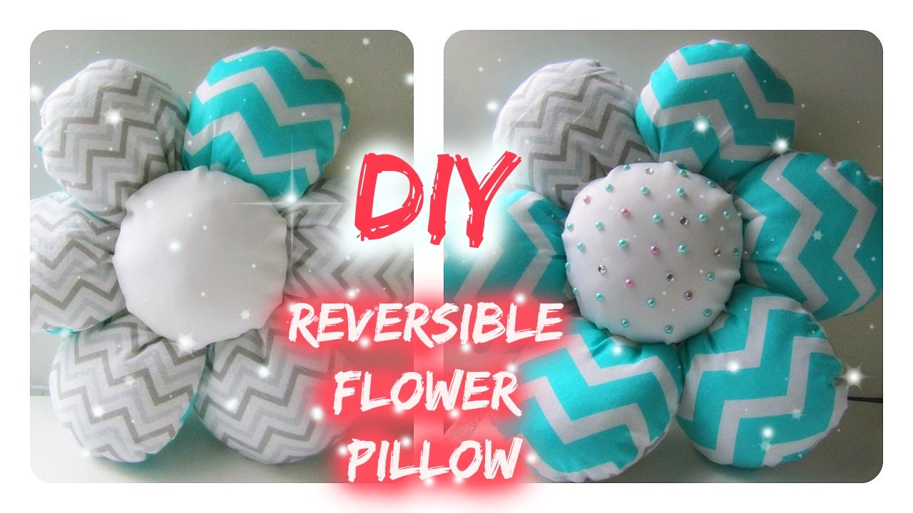 DIY Easy Flower Pillow