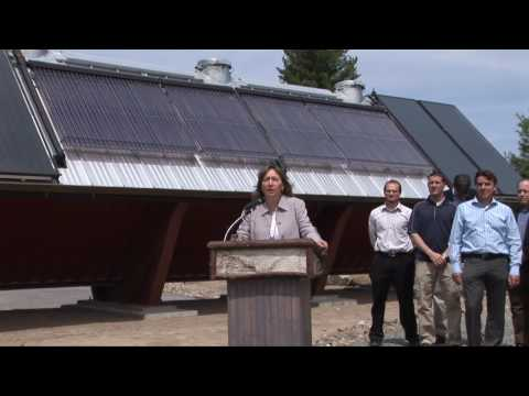 THE WILD CENTER COMMISSIONS RENEWABLE HYBRID HEATING SYSTEM