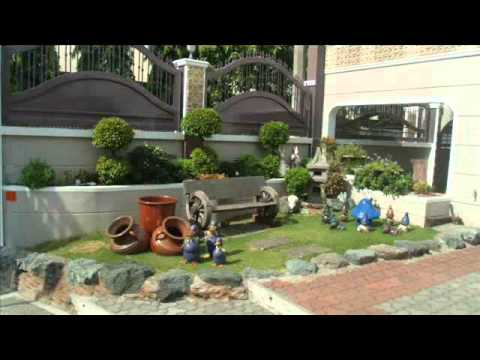 Bryan 39 s garden design and landscaping philippines youtube - Landscape design for small spaces style ...