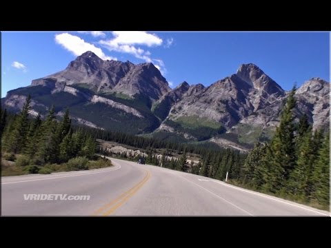 Icefields Parkway 2. Banff National Park. Rockies. Canada