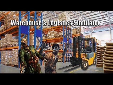 Operator wózka widłowego trochę inaczej ( ͡° ͜ʖ ͡°) Warehouse & Logistics Simulator.
