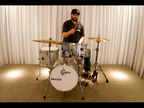 Bateria Gretsch Catalina Club Street Sound Check Drum Set