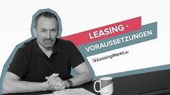 Leasing-Voraussetzungen & Möglichkeiten bei Ablehnung | Leasing einfach erklärt 🚘 LeasingMarkt.de
