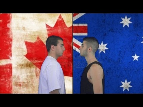 Australia vs. Canada | Immortal Rap Battles Of Nations #9