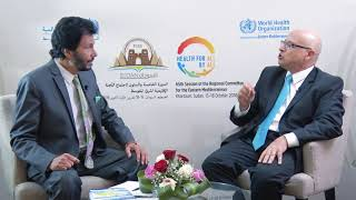RC65| Interview with Dr Hasan Salah, Regional Advisor, Primary Health Care