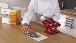 Homemade fresh pasta with Marcato Atlas 150 - Video tutorial