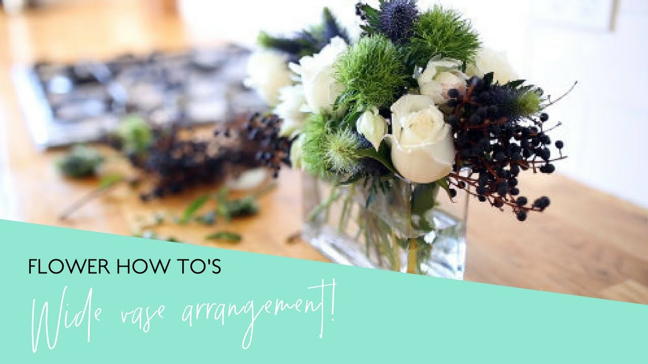 How to arrange flowers perfectly in a wide rectangular vase youtube how to arrange flowers perfectly in a wide rectangular vase reviewsmspy