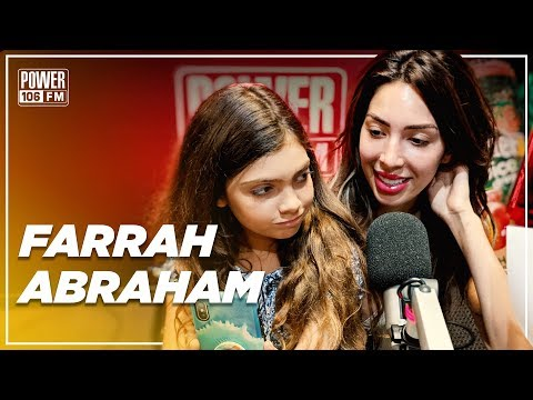 Farrah Abraham Says She'll Date 6ix9ine and Calls Nicki Minaj A Fraud