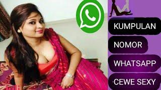 Kumpulan No Whatsapp Cwe Se Y 2019 Yang Jomblo Merapat Youtube