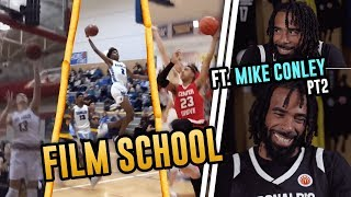 """Start With The JELLY!"" Mike Conley Comparing Players To KEVIN DURANT On McDonald's Film School!"