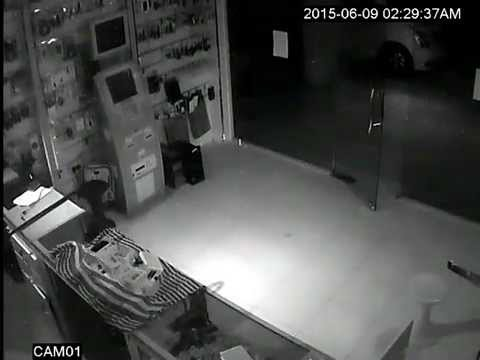 thief got in camera