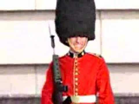A British Royal Guard goes completely insane! - YouTube