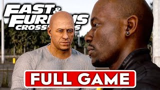 FAST & FURIOUS CROSSROADS Gameplay Walkthrough Part 1 FULL GAME [1080P HD PS4 PRO] - No Commentary