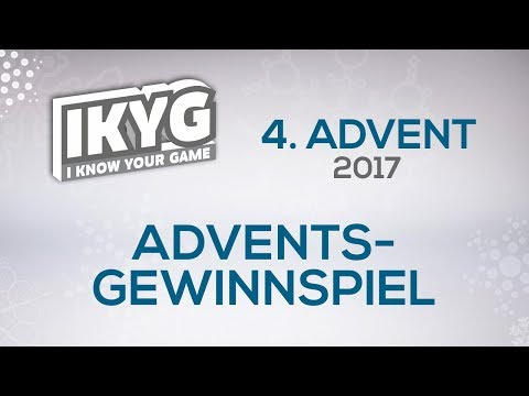 Das IKYG-Advents-Gewinnspiel 2017 - 4. Advent