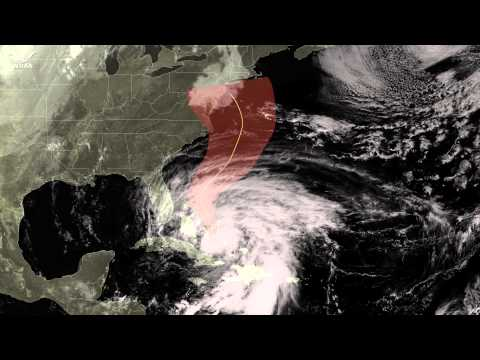 NOAA National Weather Service Accurately Predicted Sandy's Path