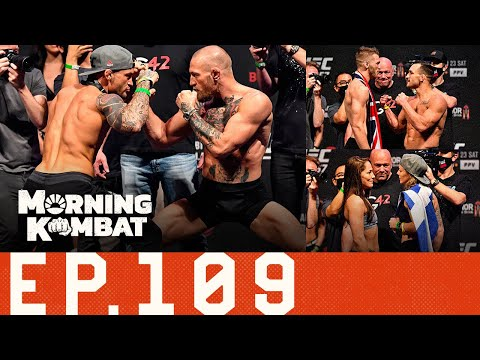UFC 257 Preview: Weigh-In Reaction, Matchup Changes | Canelo | Mighty Mouse | Morning Kombat Ep. 109