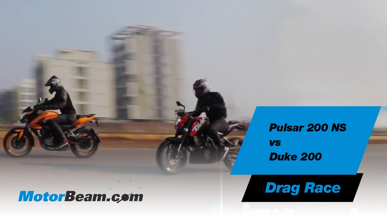Drag Race Ktm Duke 390 vs Pulsar 200 Ns🔥 - YouTube