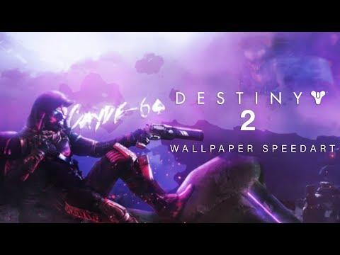 Cayde 6 Destiny 2 Desktop Wallpaper Speedart Youtube